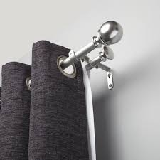 Bed Bath And Beyond Curtain Rod Brackets bedroom double curtain rod brackets bed bath and beyond double