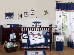 aviator crib bedding set by sweet jojo designs 9 piece blanket