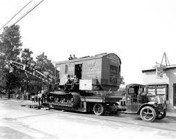 """Aacalibrary: """" Fully Loaded: 1929 Mack AC Tractor With Bucyrus Crane ..."""