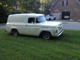 1960 Ford F100 Panel Truck - Truck Pictures Classic 1960 Ford F100 Pickup For Sale 2030 Dyler Truck Youtube I Need Help Identefing This Ford Bread Truck Big Window Parts 133083 1959 4x4 F1001951 Mark Traffic Hot Rod Network My Garage 4x4 Trucks Pinterest Trucks 571960 Power Steering Kit Installation Panel Pictures