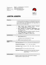 Sample Resume For Computer Science Graduate New Hotel And Restaurant Management Write