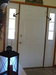 Front Door Sidelight Window Curtains by The Pleasures Of My Life Around The House