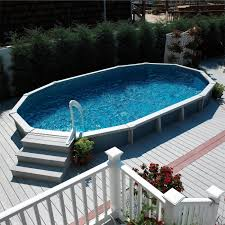 Above Ground Pool Ladder Deck Attachment by Above Ground Pool Ladders Steps Pools For Home