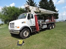 100 Stigers Trucks 2001 Sterling Terex Stinger Crane Truck BT4700 Model T04792 Sn