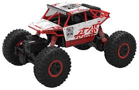 Buy Webby Remote Controlled Rock Crawler Monster Truck, Red Online ... Rc Car 116 24g Scale Rock Crawler Remote Control Supersonic 6x6 Tow Truck Scx10 Jeep Rubicon Crawlers Direlectrc Hsp 94t268091 2ws Off Road 118 At Wltoys 110 Offroad 4wd Military Trucks Road Vehicles Everest10 24ghz Rally Red Losi Night Readytorun Black Horizon Hobby With 4 Wheel Steering Buy Smiles Creation Online Low Adventures Crawling Tips Tricks Dig Moa Axial Xr10