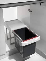 küchen einbau abfalleimer virtus 1 1x 16 liter handauszug ab 40cm schrankbreite lichtgrau deckel als ablage nutzbar mülleimer abfallsammler