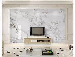 großhandel 3d tapete benutzerdefinierte foto seide mural tapete dekoration hd jazz weiß marmor wohnzimmer tv sofa hintergrund wand papel de parede