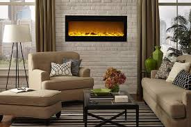 Touchstone 80004 Sideline Built In Recessed Electric Fireplace