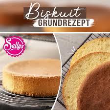 biskuit grundrezept sallys welt