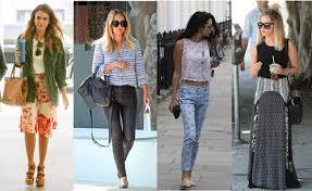 In The Street Celebrities Wear Breezy Summer Style