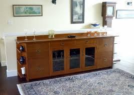 voorhees craftsman mission oak furniture custom 9 foot long arts