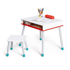 premier bureau enfant bureau évolutif et tabouret educabul création oxybul pour