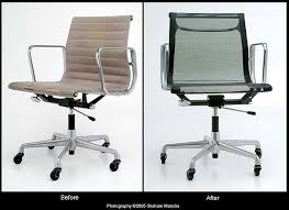 Herman Miller Eames Soft Pad Executive Chair by Eames Aluminium And Soft Pad Group Renovation Repairs To Herman