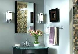 Home Depot Chrome Bathroom Sconce by Mirrored Wall Sconces Lighting U2013 Slwlaw Co