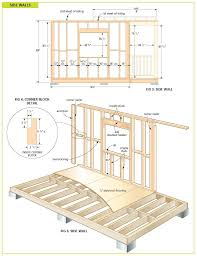 Shed Plans 8x12 Materials by Free Wood Cabin Plans Free Step By Step Shed Plans