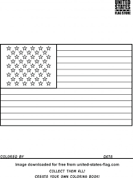 Flag Old Glory Coloring Book Free Printable Geometric Design Pages Flower Patterns Abstract Pdf