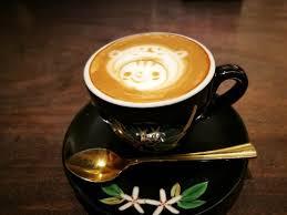Ogawa Coffee Kyoto Sanjo Latte Art