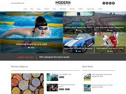 100 Modern Design Blog Top 10 Free WordPress Themes For S For 2019