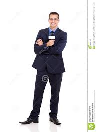 News Reporter Microphone Stock Photo Image Of Attractive