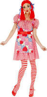 Halloween City Twin Falls Id 2014 by Scary Rag Doll Costume For Women Party City A Little Bit Of