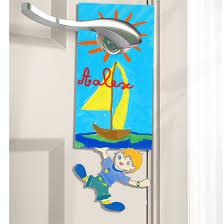 plaque de porte chambre bébé plaque de porte personnalisée garçon plaque de porte sur tête à