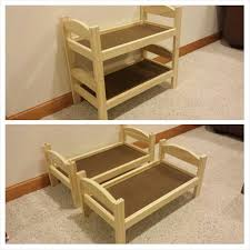 Wood For Building Bunk Beds by Best 25 Doll Bunk Beds Ideas On Pinterest American Beds