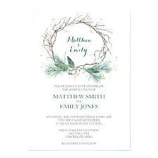 Winter Wedding Invitations 2477 Plus Invitation Wreath Wording Ideas Us