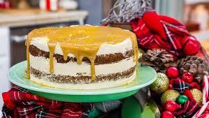 sticky toffee cake mit salzkaramellglaser gesalzener