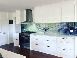 Digitally Printed Dandelion Glass Splashback By Graphic Services