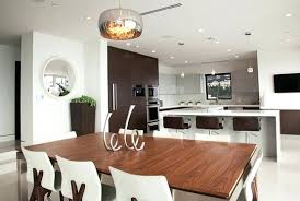 Dining Room Pendant Lighting Contemporary Style Lights Over Table Home Interiors With