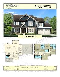 100 Picture Of Two Story House Plan 2970 THE Plans 2 Plan Greater Living