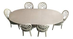 Vintage Used Dining Table Chair Sets For Sale