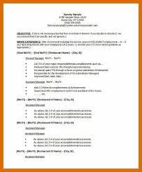 Resume Restaurant Manager Template 8 9