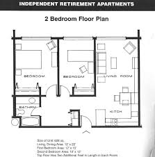 104 Two Bedroom Apartment Design Stellar Typical 2 Layout
