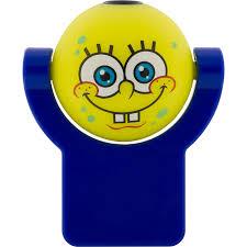 Spongebob Squarepants Bathroom Decor by Shop Nickelodeon Spongebob Squarepants Yellow Led Night Light With