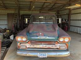 100 1958 Chevy Truck For Sale 3200 Big Window Perfect Patina No Reserve Shop