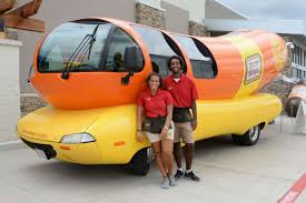 Oscar Mayer Wienermobile Makes Appearance In Houston ... Oscar Mayer Hotdogger Reveal What Its Really Like To Drive The Relish These 5 Fun Facts About Wienermobile As It Pays Omaha A Wienermobile Hashtag On Twitter Celebrates Hot Dog Princess During Crashes In Pennsylvania Abc13com 2012 3d Model Hum3d Makes 4 Stops Se Wi Cluding 2014 First Vehicle For Lease Exclusively The Spotted Nashville Tn Mind Over Motor