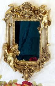 objekte nach 1945 repro spiegel barock wandspiegel gold