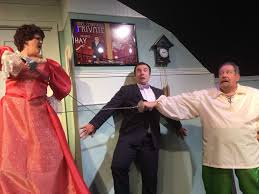 Tommys Patio Cafe Webster Tx by Actors Show Silly Sides In U0027moon Over Buffalo U0027 Houston Chronicle
