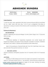 Fast Food Manager Resume Inspirational Sample Fice Examples Finance Of