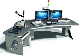 Music Studio Computer Desk Home Recording Interior Design Workstation Producer