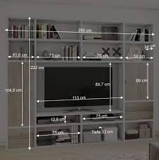 wohnzimmer mediawand in sonoma eiche lidian