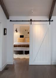 Barn Style Interior Doors Bedroom Contemporary With Door Baseboards Ceiling