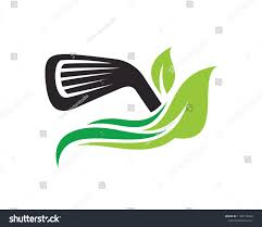99 Eco Golf Logo Symbol Template Design Stock Vector Royalty Free