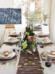 Dining Room Table Decorating Ideas For Fall by Table Decor For Fall Gray Fabric Dining Chairs Glass And Wood
