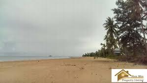 100 Absolute Beach Front Front Land For Sale Bang SaPhan 145 Rai