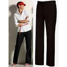 pantalon cuisine femme pantalon noir de service ou cuisine femme polyester coton