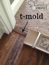 Laminate Floor Transitions Doorway by Installing Laminate Flooring Transition At Sliding Glass Door