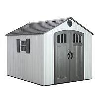 Keter 10x8 Stronghold Shed by Lifetime 10 U0027 8 U0027 Outdoor Storage Shed Sam U0027s Club