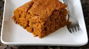 Healthy Light Pumpkin Dessert by Vegan Pumpkin Pie Blondies Recipe Allrecipes Com